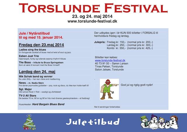 Julefolder Torslunde Festivalen 2014