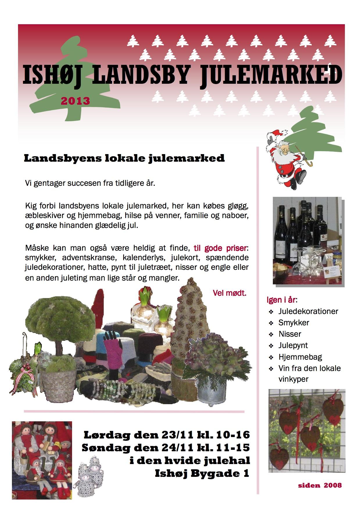 Julemarked i Ishøj Landsby